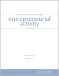 Read the Kauffman Index of Entrepreneurial Activity 1996 - 2010