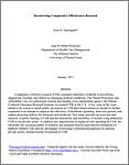 Read Incentivizing Comparative Effectiveness Research