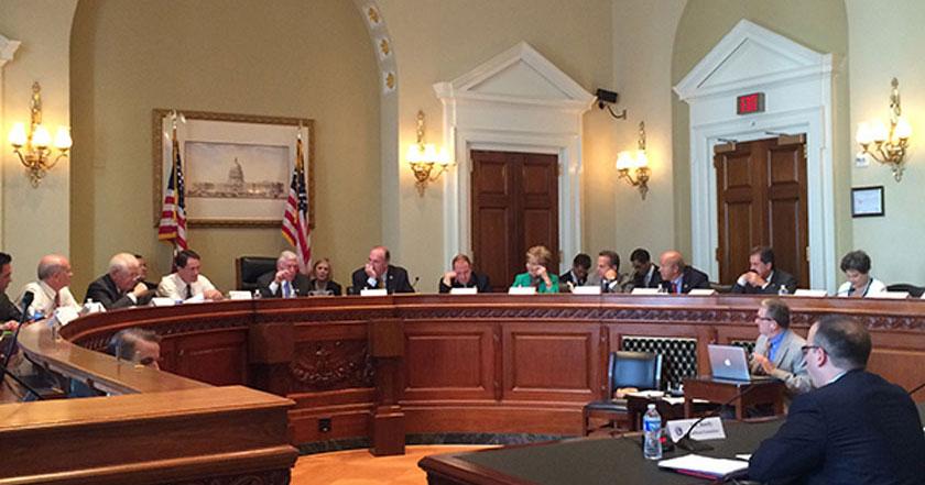 ej reedy addresses members of congress