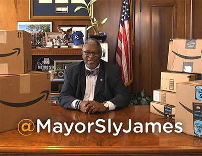 Mayor Sly James #KC5Stars #AmazonHQ2