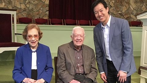 Reflecting on President's Day: Church with Jimmy Carter by Victor W. Hwang, vice president of Entrepreneurship at the Kauffman Foundation