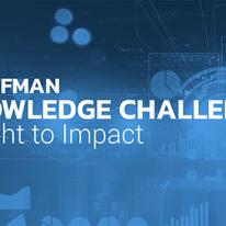 Kauffman Knowledge Challenge: Insight to Impact