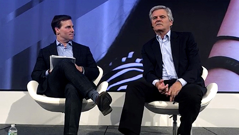 Larry Jacob and Steve Case