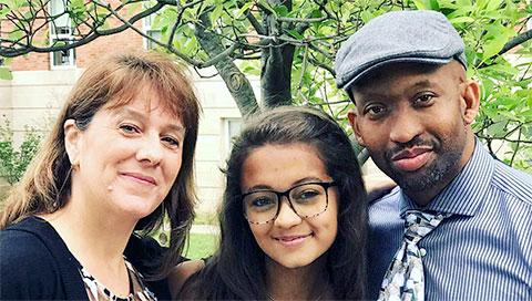 Corey Scholes' family