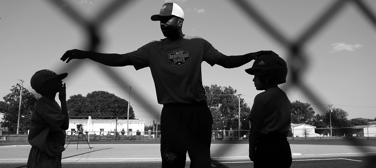 Cle Ross, MLB Kansas City Urban Youth Academy