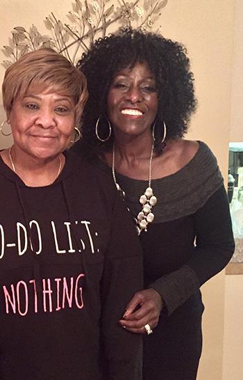 Debra and Gwendolyn Washington