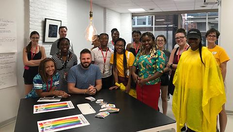 LGBTQ coworking spaces, Staunton Innovation Hub, Chris Wood