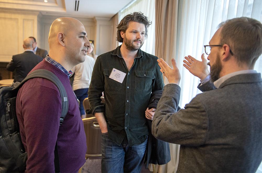 Jaime Martinez, C'pher Gresham, and Jason Wiens