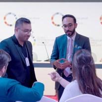 Esam Hammad (right) at GEC