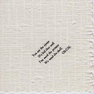 Souvenir napkin