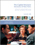 Read The Capital Structure Decisions of New Firms
