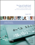 Read: The Use of Credit Card Debt by New Firms