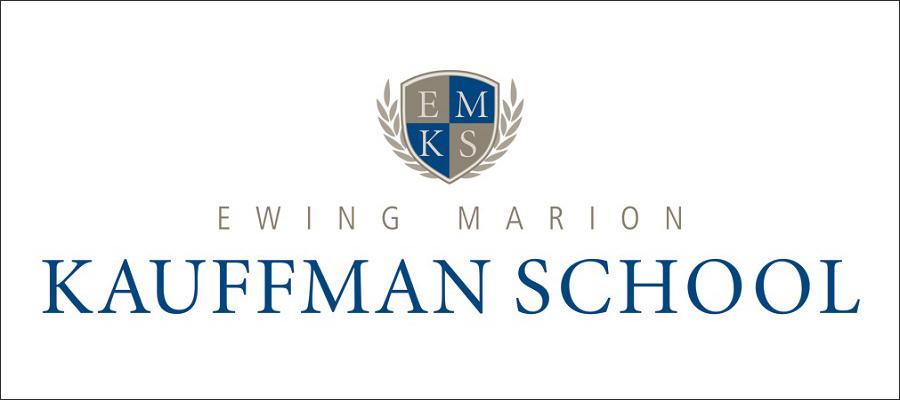 Ewing Marion Kauffman School logo