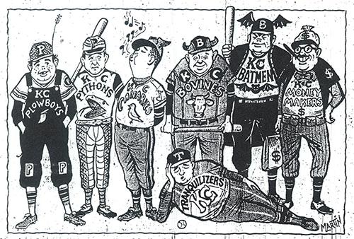 Royals cartoon