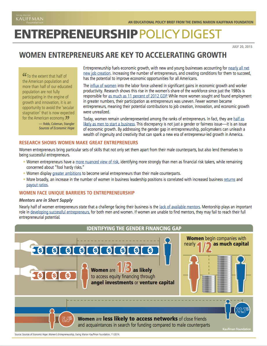 Read the Entrepreneurship Policy Digest