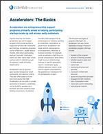 Accelerators: The Basics | Entrepreneurship Issue Brief, No. 1