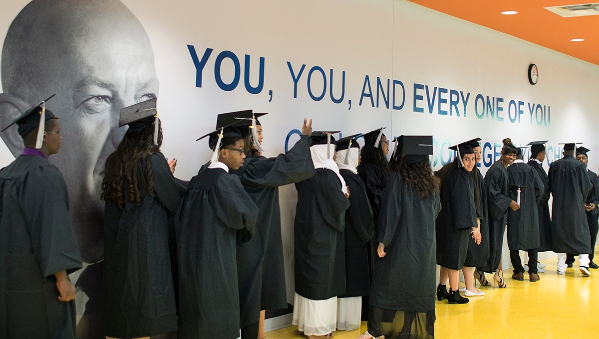 Ewing Marion Kauffman School graduates