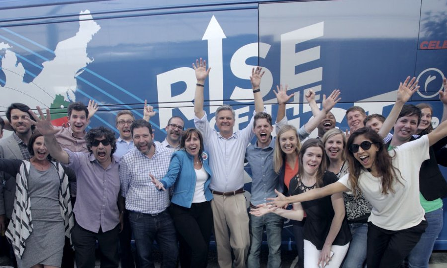 Jean and Steve Case on a Rise of the Rest tour stop in New Orleans