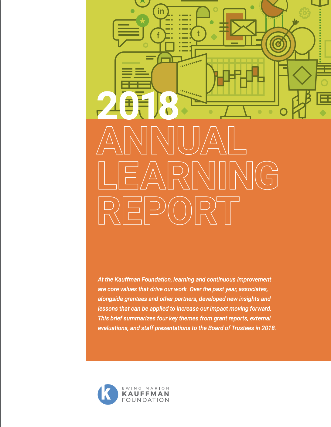 Kauffman Foundation Annual Learning Report 2018