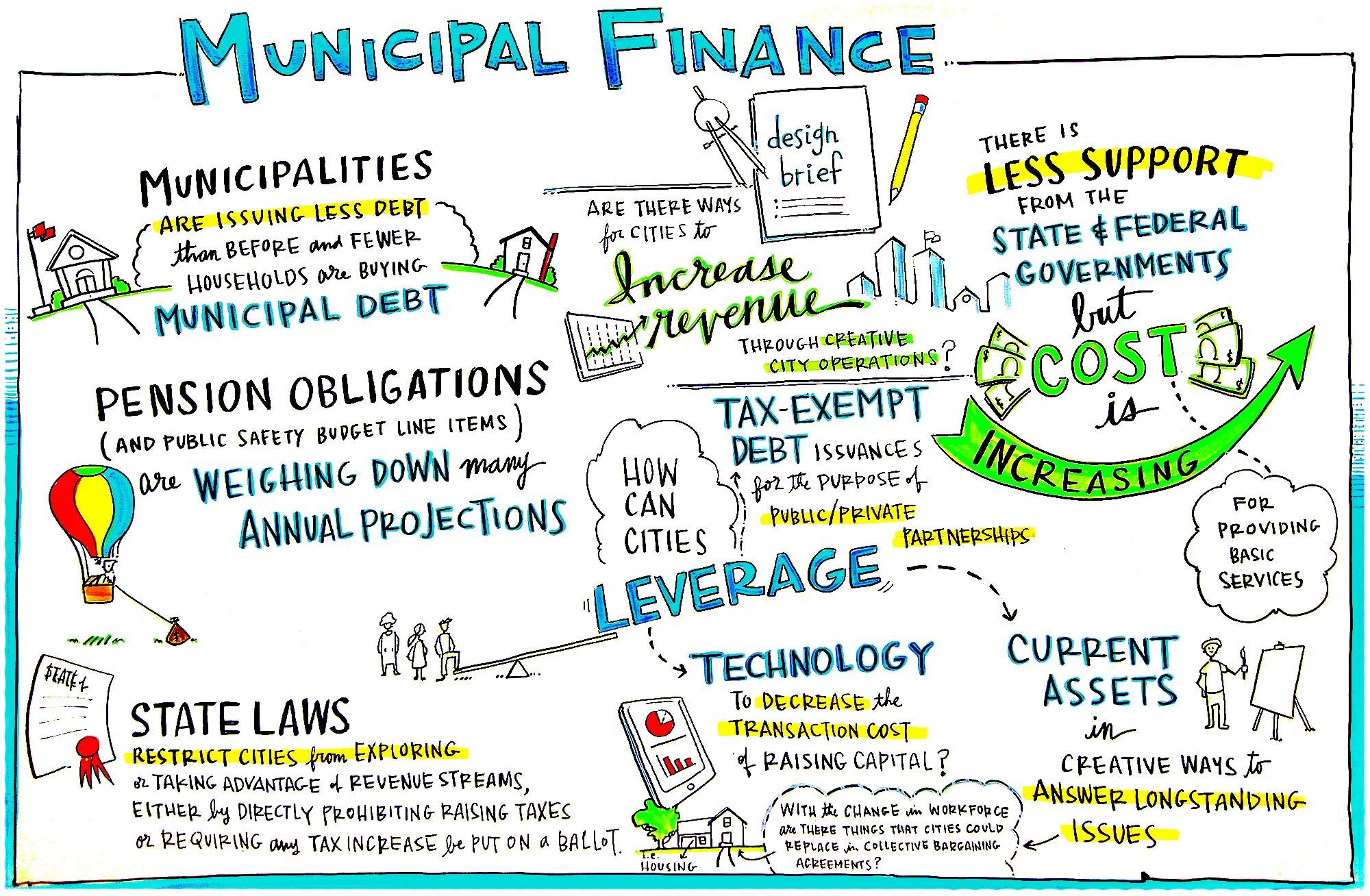 Municipal Finance Scribing 2   Mayors Conference 2017