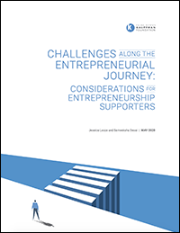Challenges Along the Entrepreneurial Journey: Considerations for Entrepreneurship Supporters