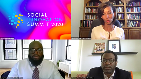 Social Innovation Summit | Murray Woodard, Lia McIntosh, and Sherman Whites from Kauffman Foundation