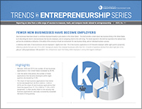 Fewer Businesses Have Become Employers | Trends in Entrepreneurship, No. 11