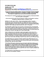 Capital Access Lab press release, July 2020