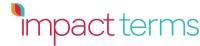 Impact Terms logo