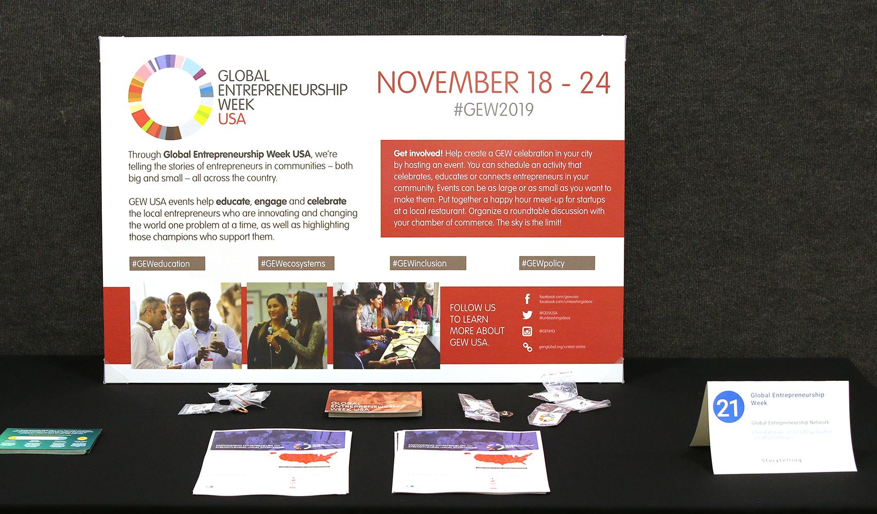 Global Entrepreneurship Week, Science Fair | ESHIP Summit 2019
