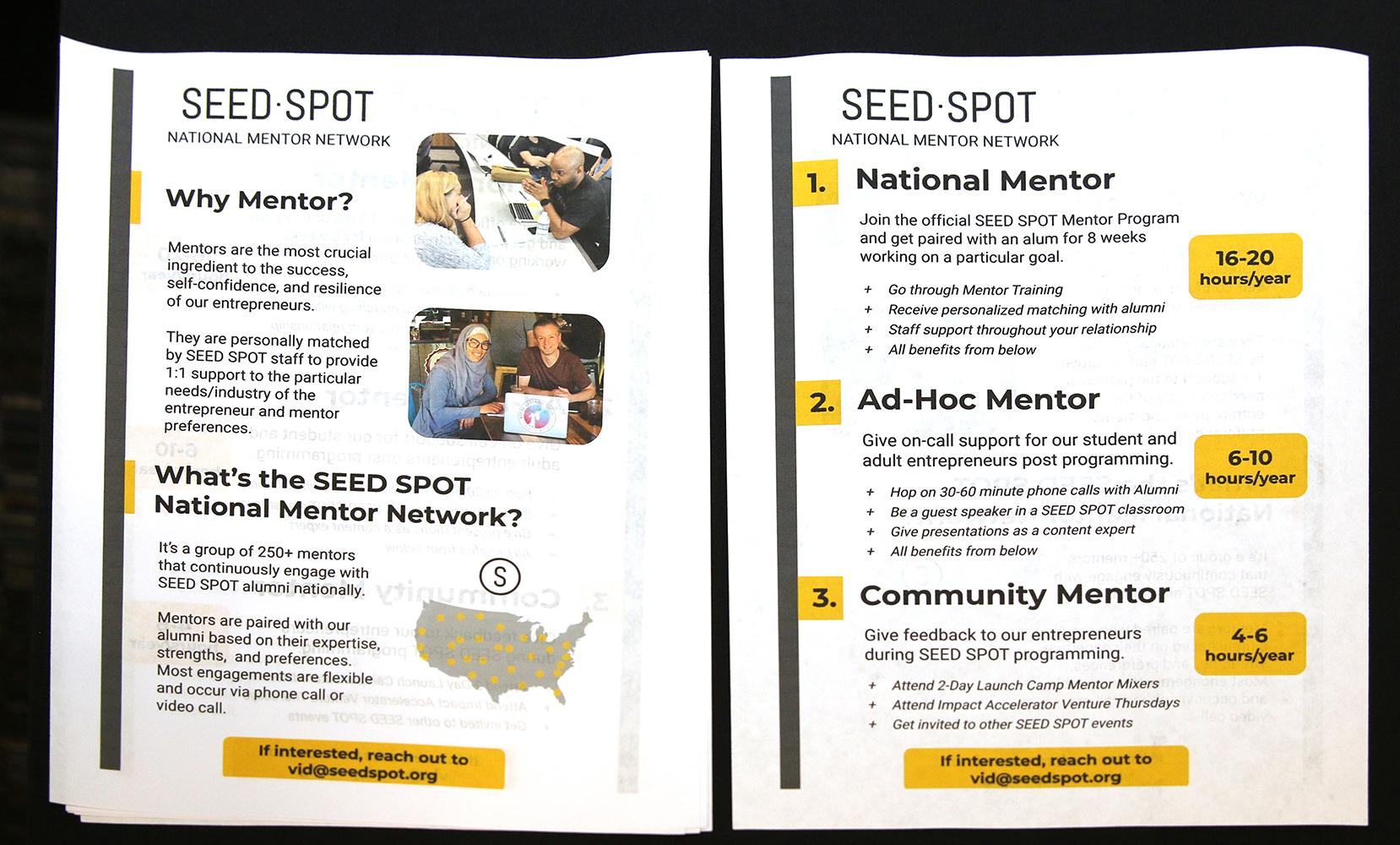 How to Seed Spot, Science Fair | ESHIP Summit 2019