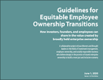 Guidelines for equitable employee ownership transitions report