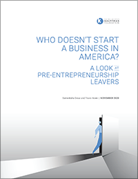 Who Doesn't Start A Business in America? A Look at Pre-Entrepreneurship Leavers