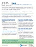 RWL FAQ Project Lead the Way