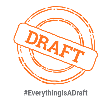 Everything is a draft stamp