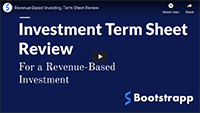 Term Sheets 101: RBI, Bootstrapp