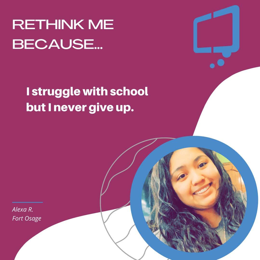 Alexa, Rethink Youth 2021