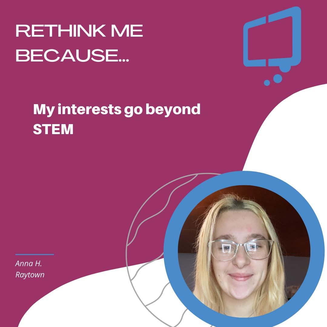 Anna, Rethink Youth 2021