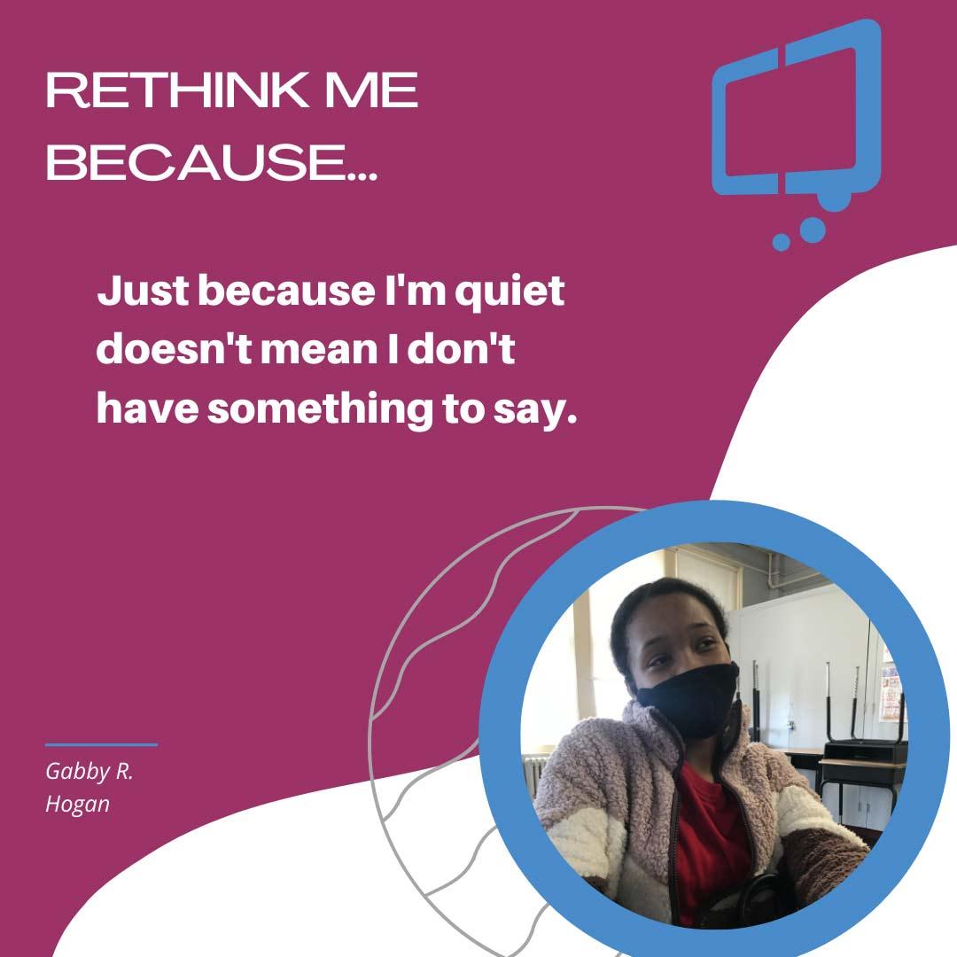 Gabby, Rethink Youth 2021