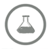 Goal 5, grey icon with a beaker in the center