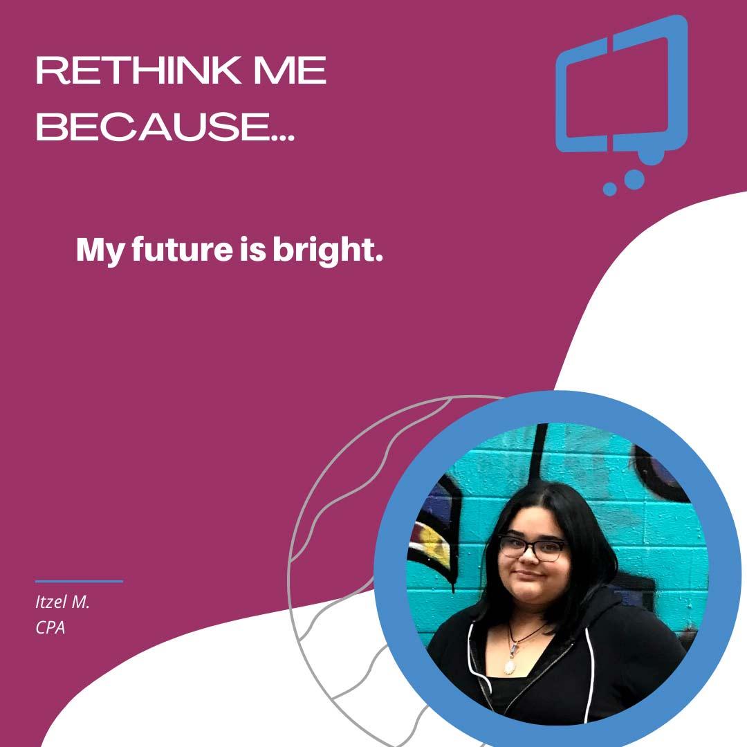 Itzel, Rethink Youth 2021
