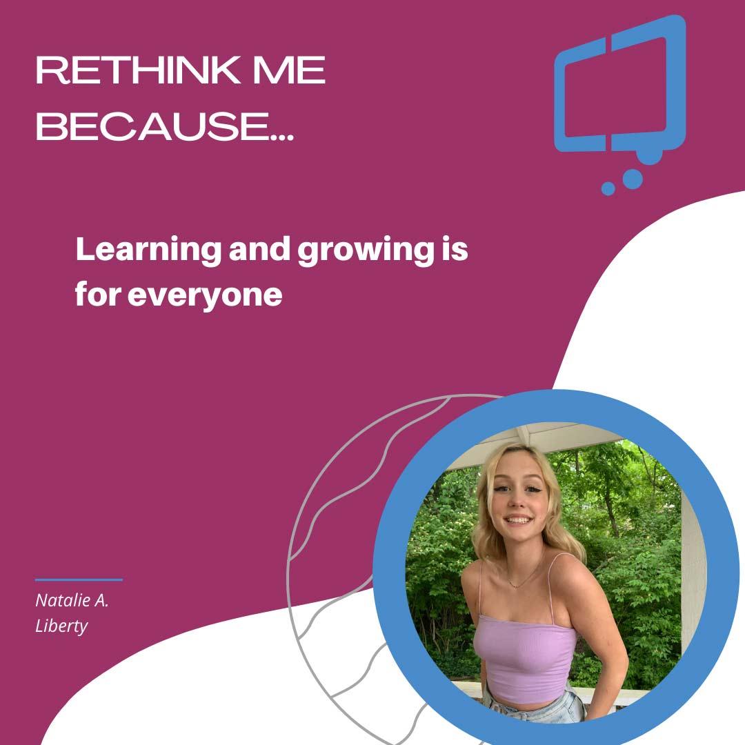 Natalie, Rethink Youth 2021