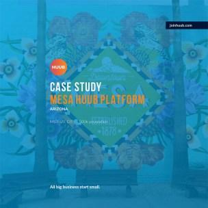 CO+HOOTS: Case Study, Mesa HUUB Platform